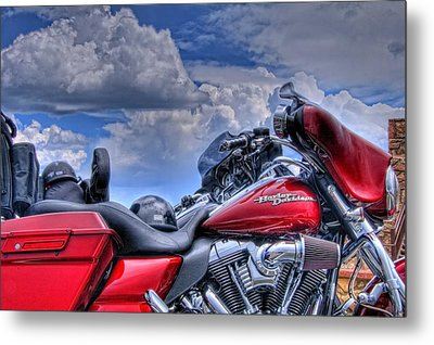 Harley Metal Print by Ron White
