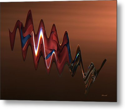 Metal Print featuring the photograph Harmonic Flow by Dennis Lundell