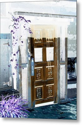 Harmony Doorway Metal Print by Dana Patterson