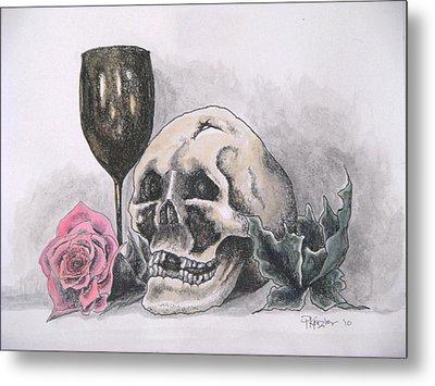 Harold And The Rose Metal Print