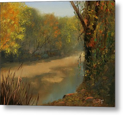 Harpeth At Carnton Metal Print by Tommy Thompson