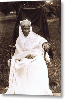 Harriet Tubman Portrait 1911  Metal Print by Unknown
