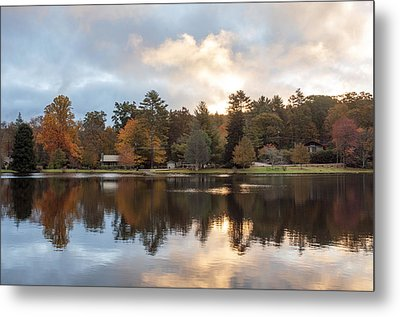 Harris Lake Highlands Nc Metal Print by Allen Carroll
