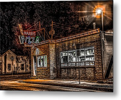 Harris Pizza #3 Metal Print by Ray Congrove
