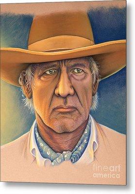 Harrison Ford Metal Print by Tish Wynne