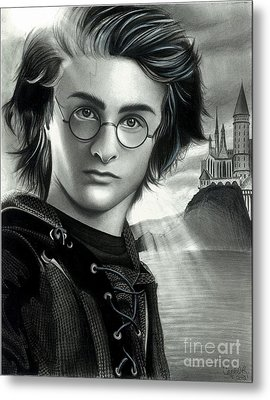 Harry Potter And The Goblet Of Fire Metal Print
