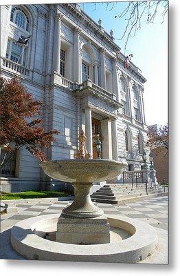 Hartford Historical Building Metal Print