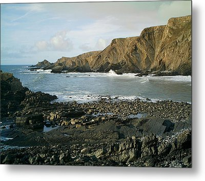 North Devon - Hartland Quay Metal Print