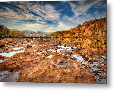 Hartwell Dam Metal Print by Brent Craft