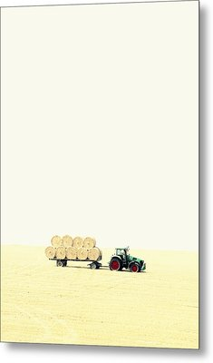 Harvest Metal Print by Chevy Fleet