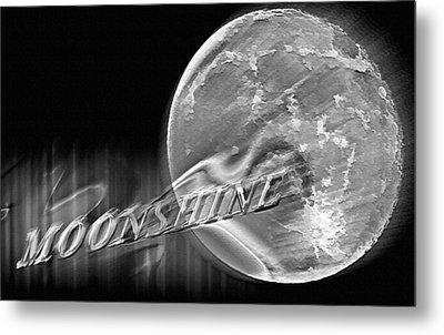 Harvest Moon - Moonshine 2 Metal Print by Steve Ohlsen