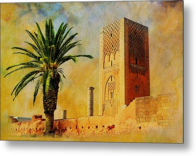 Hassan Tower Metal Print by Catf