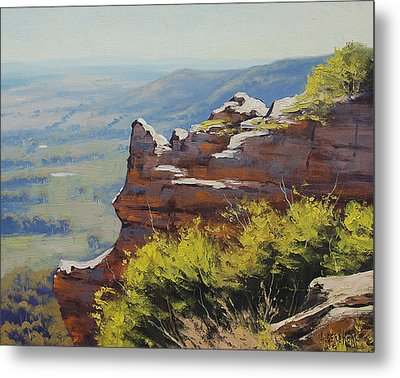 Hasson Wall Lithgow Metal Print by Graham Gercken