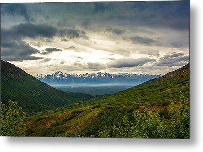 Hatcher Pass Alaska Metal Print