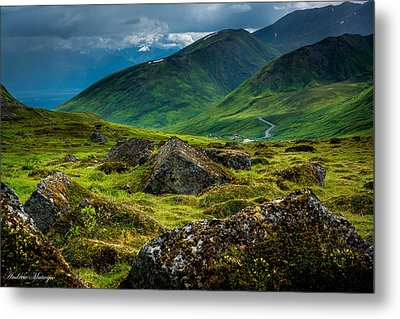 Hatcher's Pass  Metal Print