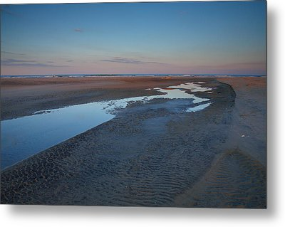 Hatteras Tidal Pools II Metal Print by Steven Ainsworth