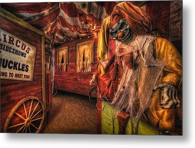 Haunted Circus Metal Print
