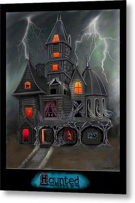 Haunted Metal Print by Glenn Holbrook