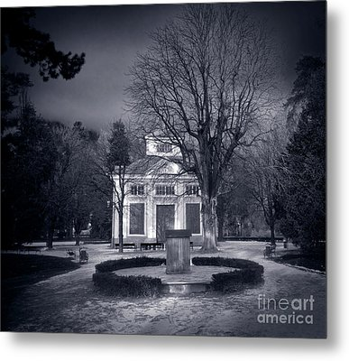 Haunted House Metal Print by Michal Bednarek
