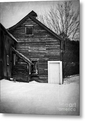 Haunted Old House Metal Print