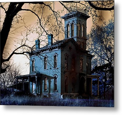 Haunted Sauer Castle Metal Print by Christopher McKenzie