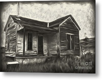 Haunted Shack - 02 Metal Print by Gregory Dyer