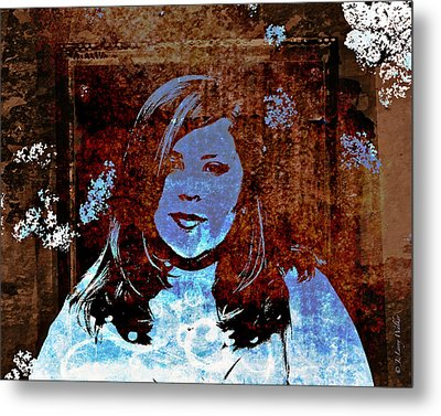 Haunting Beauty - Libbie Metal Print by J Larry Walker