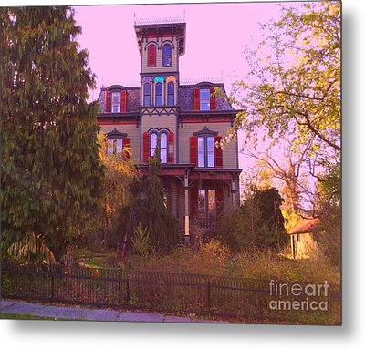 Metal Print featuring the photograph Hauntingly Victorian 1 by Becky Lupe