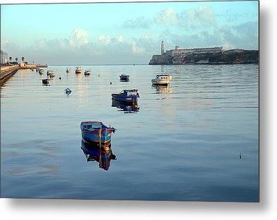 Havana Maritime 2 Metal Print