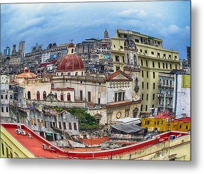 Havana Urban Expression Metal Print