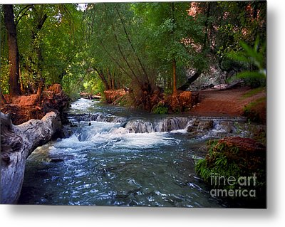 Havasu Creek Metal Print