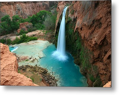 Havasu Falls Morning Metal Print