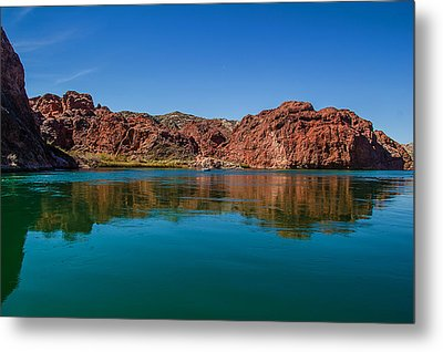 Metal Print featuring the photograph Havasu Glass by April Reppucci