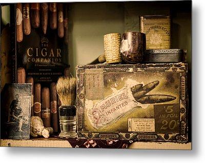 Have A Cigar Metal Print by Heather Applegate