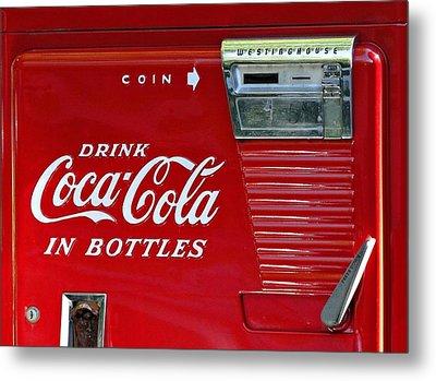 Have A Coke Vintage Vending Machine Metal Print by Movie Poster Prints