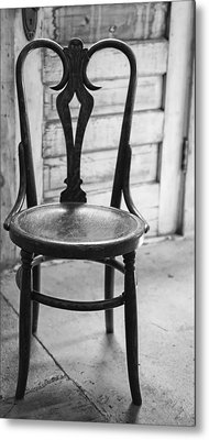 Have A Seat With History Metal Print by Thomas Young