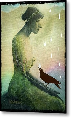 have I seen you here before? Metal Print