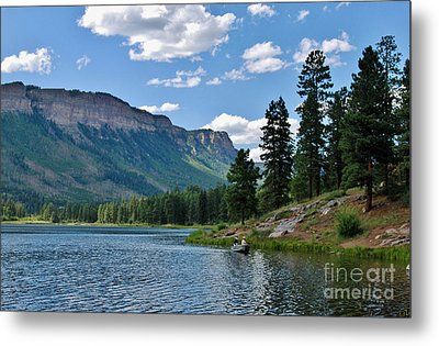 Metal Print featuring the photograph Haviland Lake by Janice Rae Pariza