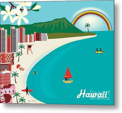 Hawaii Metal Print by Karen Young
