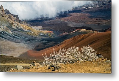 Hawaii Volcano Landscape Metal Print by Pierre Leclerc Photography
