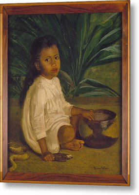 Hawaiian Child, 1901 Metal Print