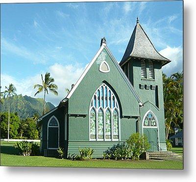 Hawaiian Church Metal Print