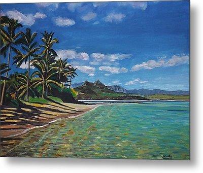 Hawaiian Paradise Metal Print by Richard Nowak