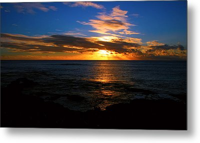 Hawaiian Sunset Metal Print by Kara  Stewart