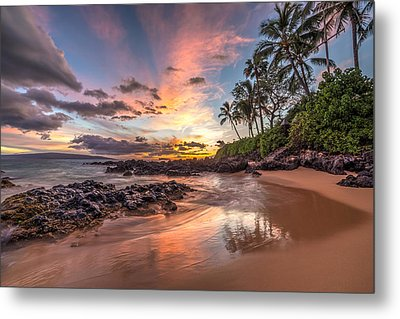 Hawaiian Sunset Wonder Metal Print