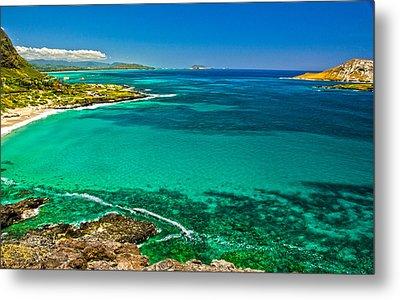 Hawaiian Water Metal Print by Michael Misciagno