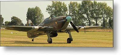 Hawker Hurricane Taxing Metal Print