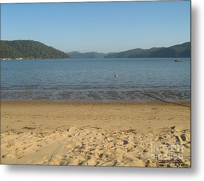 Metal Print featuring the photograph Hawksbury River From Dangar Island by Leanne Seymour