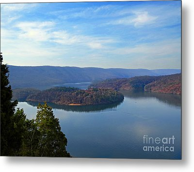 Hawn's Overlook Metal Print