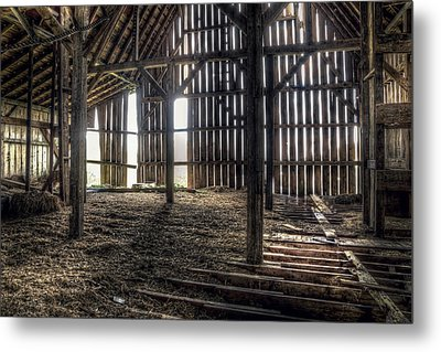 Hay Loft 2 Metal Print by Scott Norris